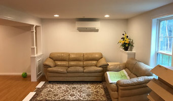 Mitsubishi Ductless system for Basement space in Hopkinton, MA