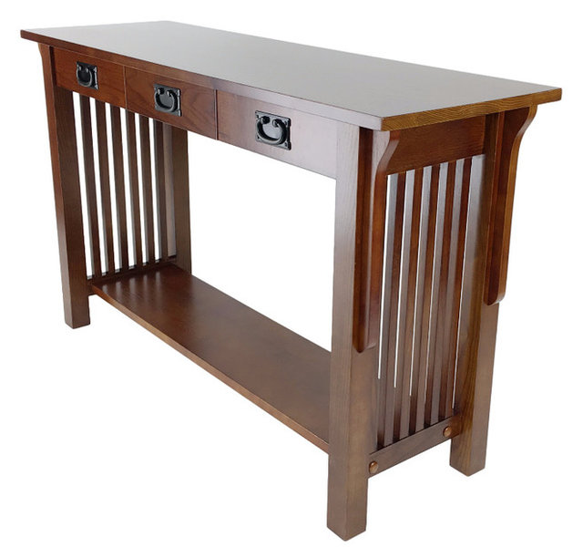Hugo Console Table Craftsman Console Tables by Wayborn Home