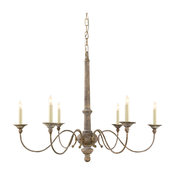 Country 6-Light Chandelier
