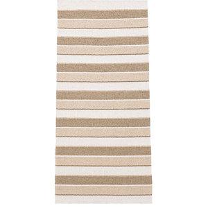 Tore Vinyl Floor Cloth, Beige, 70x200 cm