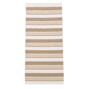 Tore Vinyl Floor Cloth, Beige, 150x240 cm