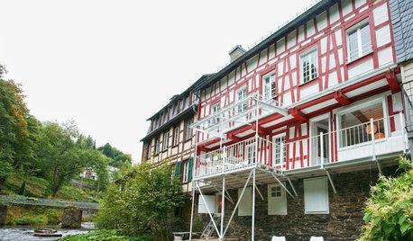 Houzz Германия: Каникулы в старом фахверковом доме у реки