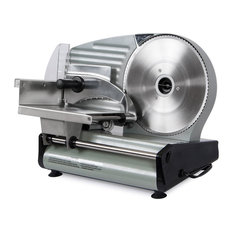 """180W Electric Meat Slicer Blade Deli Cutter 8.7"""" Commercial Style"""