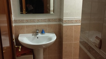 Reforma de baños en piso