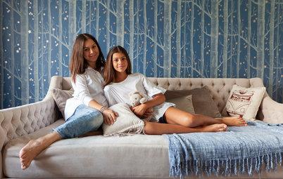 В гостях: Квартира со скошенными стенами на Речном
