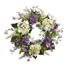 Hydrangea Berry Wreath, Multicolor