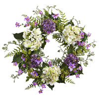 Hydrangea Berry Wreath Arrangement, 24""