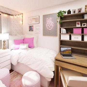 Anna Larson & Lindsay's Dorm Room