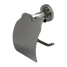 Keeney Infinity Toilet Roll Holder, Brushed Nickel