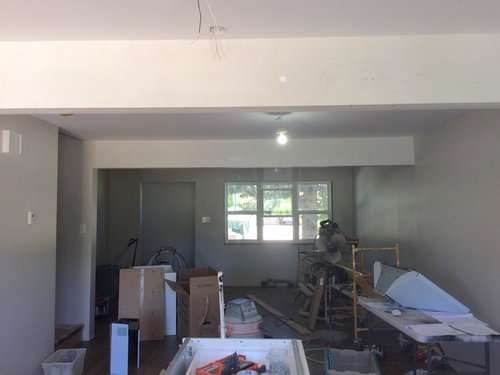 Paint Ceiling Beams White Match Or Trim