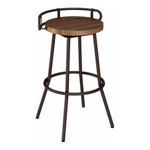 Ontario Backless Counter Stool Transitional Bar Stools