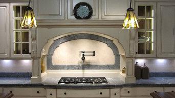 Kitchen Countertops / Backsplash Detail