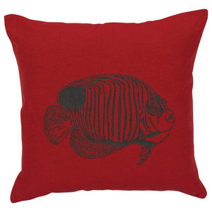 Chilli Scatter Cushion, Fish