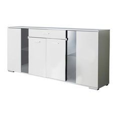 Ice 1-Drawer Sideboard
