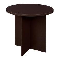 Niche Mod 30-inch Round Table-Truffle