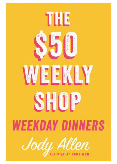 Book extract $50 Weekly Shop