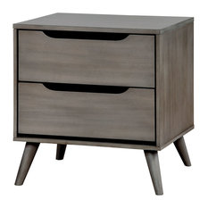 Modern Bedside Table modern gray nightstands and bedside tables | houzz