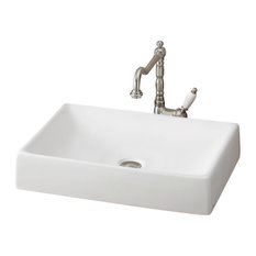 Cheviot Products Quattro Vessel Sink, White