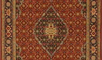 Persian Tabriz rug 4'9 X 6'11