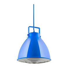 Sunlite Blue Zed Ceiling Pendant Light Fixtures Medium-E26