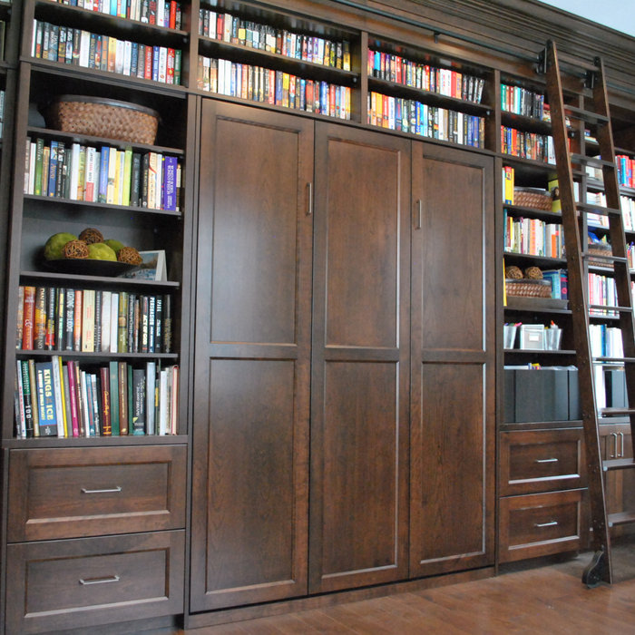 Murphy Bed, Library