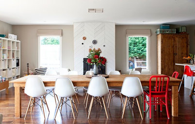 My Houzz: After Renovating, a Family Flips Over Its House