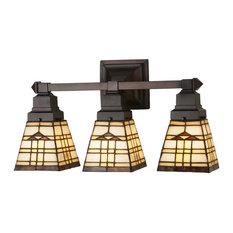 """Meyda Lighting 20""""W Arrowhead Mission 3 LT Vanity Light"""