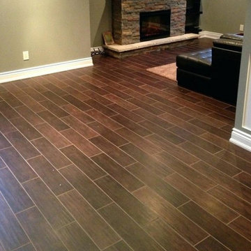 Completed flooring projects