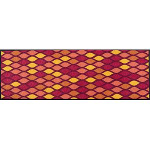 Easy Clean Loops Doormat, Red, Large