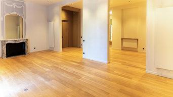 Rénovation de 200 m² de parquets