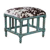 Luxe Small Spindle Leg Plantation Bench