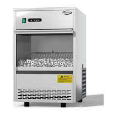 Costway Commercial Automatic Ice Maker Machine 70lbs/24h Stainless Freestanding