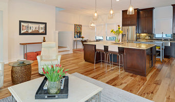 Modern townhouse staging