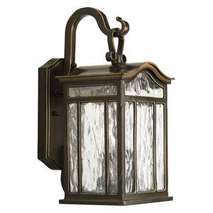 Progress Lighting 2-60W Candle Medium Wall Lantern, Oil Rubbed Bronze