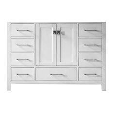 "Caroline Avenue 48"" Cabinet Only, White"