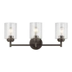 Kichler Winslow 3 Light Bath Light in Olde Bronze