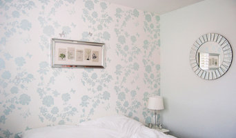 Pretty Flower Wallpaper, Bedroom Feature Wall