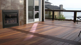 Red Balau Mahogany Decking