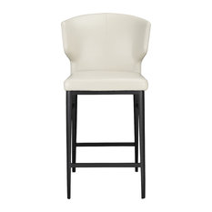 Moe's Home Delaney Counter Stool Beige