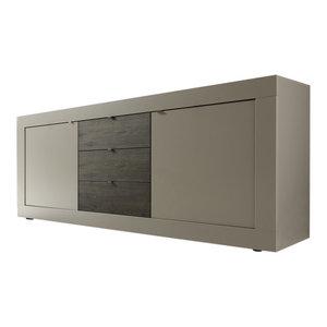 Dolcevita II Sideboard, 210 cm, Matte Beige