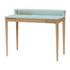 Ashme Desk, Light Turquoise