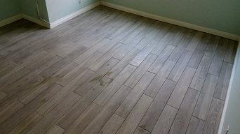 Tiles in bedroom