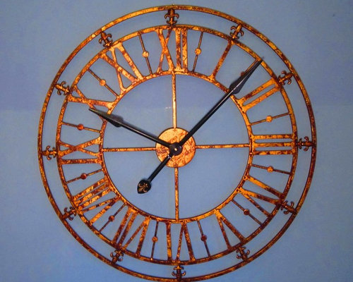 Clocks Large Decorative Metal Wall Clocks