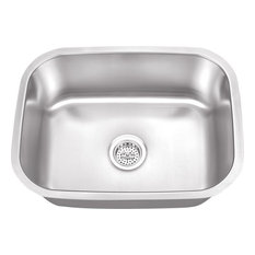 Stainless Steel 16-Gauge Single Bowl Bar Sink