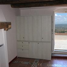 Mini Cucine a scomparsa monoblocco cm.165 - Mini cucine per ...
