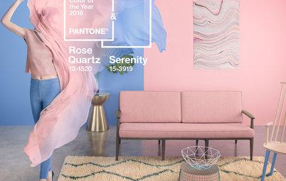 Rose Quartz et Serenity : Décryptage du duo Pantone 2016