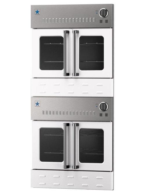 30 Bluestar Double Gas Wall Oven