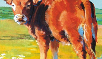Cow Paintings for a Country Home, Farm House or Barn Conversion