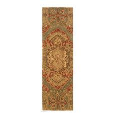 Oriental Weavers Huntley Floral Wool Blue/Rust Rug