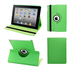 Ipad Pro 360 Case, Faux Leather, Green